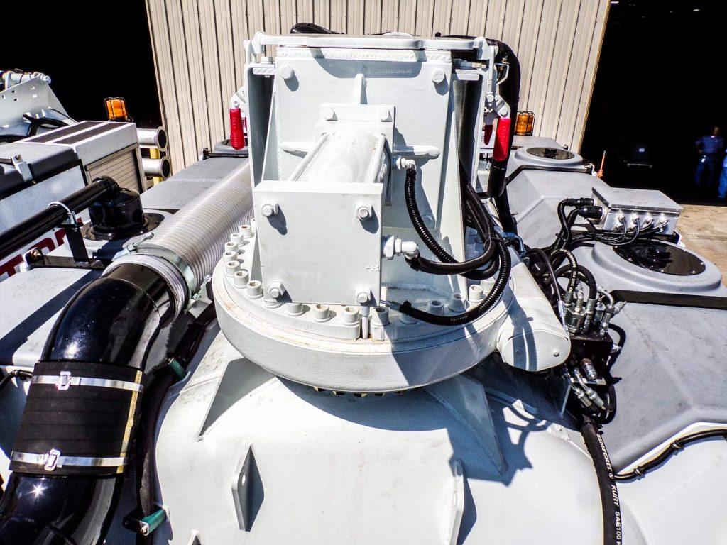 Daylighter Hydro Excavator rotating boom