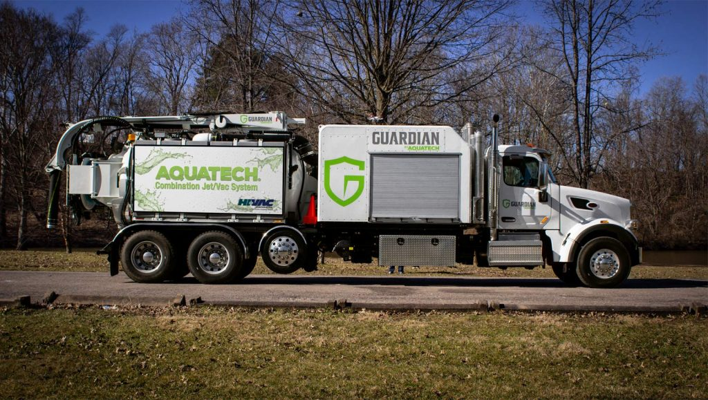 Guardian Jet Vac Truck side profile