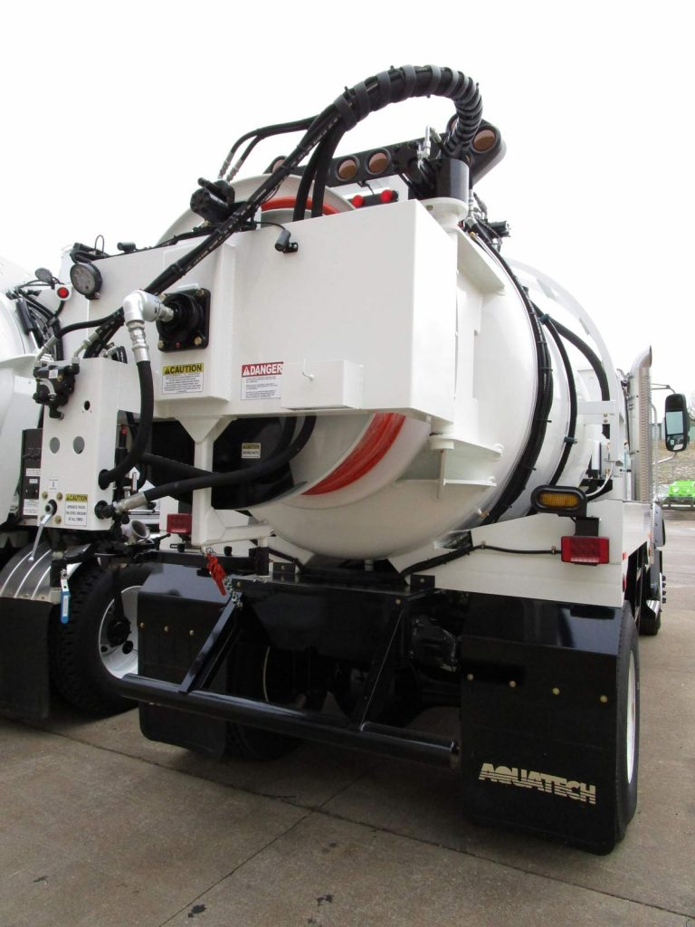 SJR Water Jetter Truck rear