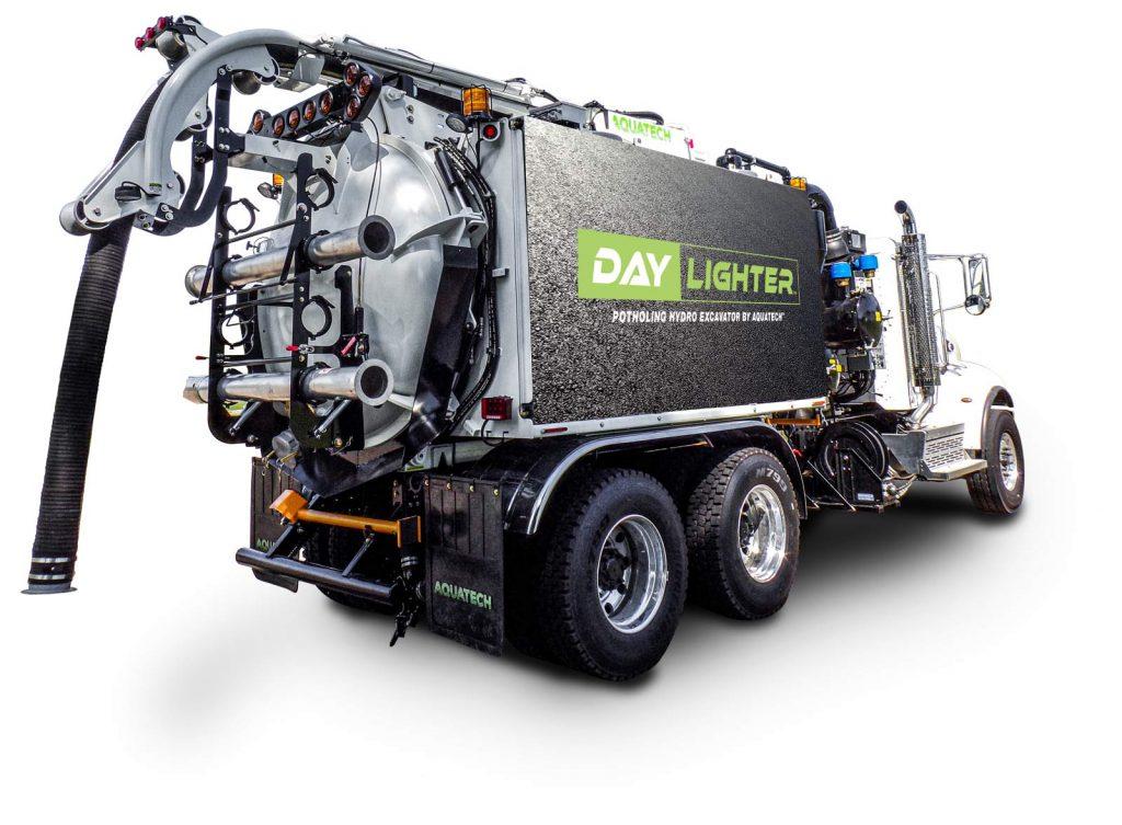 Daylighter Hydro Excavator rear quarter
