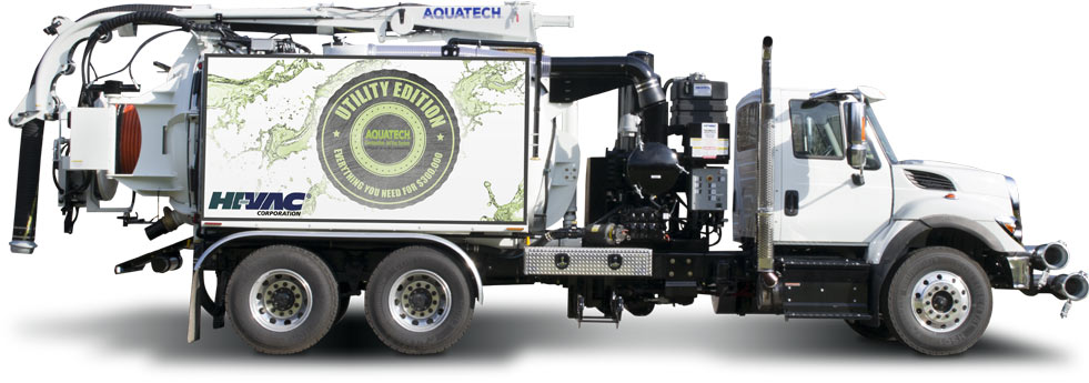 Aquatech Utility Edition Sewer Cleaner Sewer Jet Truck