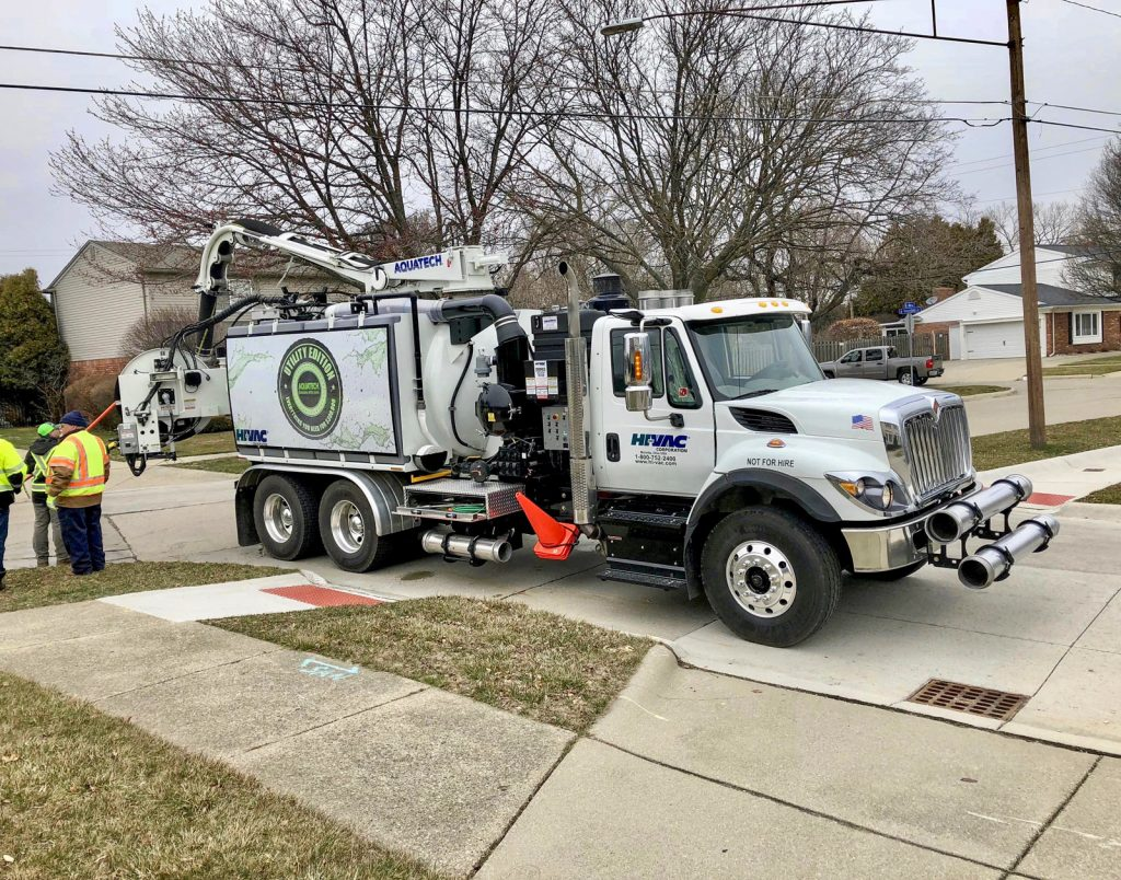 Utility Edition affordable sewer cleaner in the field