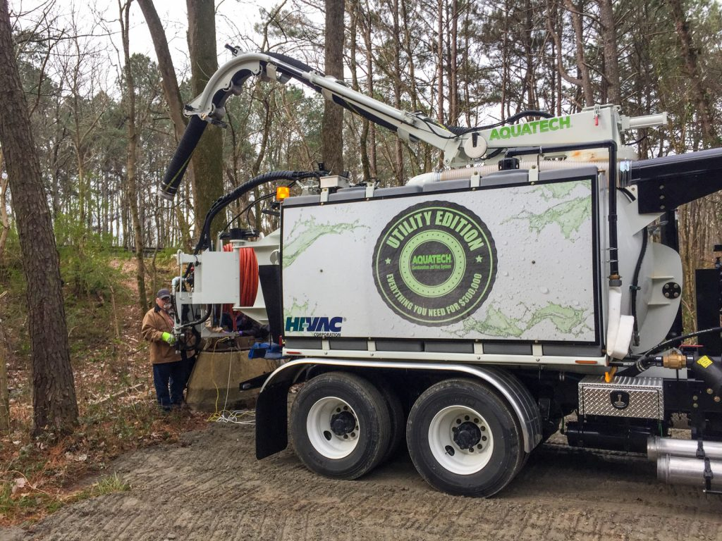 Utility Edition affordable sewer cleaner in use
